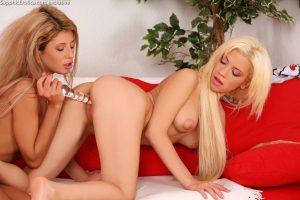 Sapphic Erotica Anya & Dalia in Limber Lovers 3
