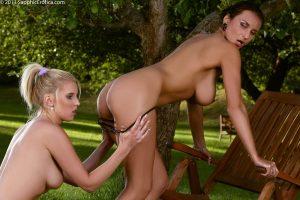 Sapphic Erotica Roxy & Ewe in Garden Glister 12